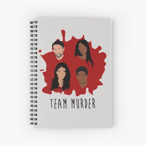 Asesinato en equipo Cuaderno de espiral