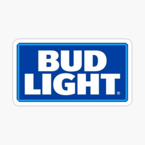 Bud Light Logo Sticker