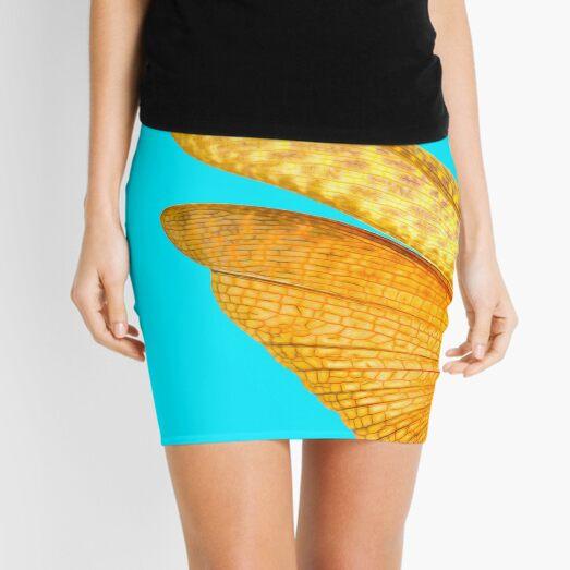 Locust Blue Mini Skirt