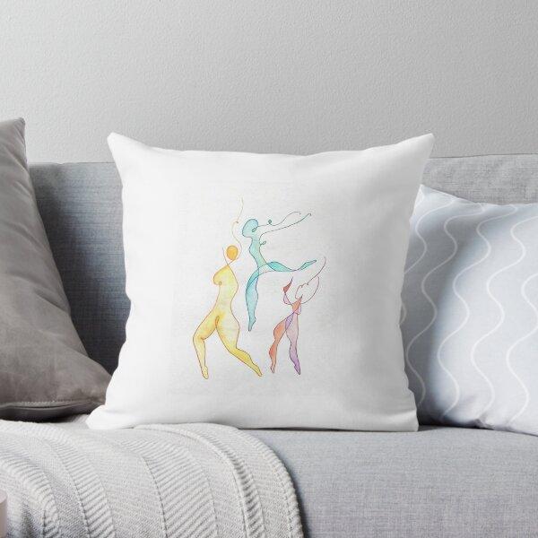 Trois Throw Pillow