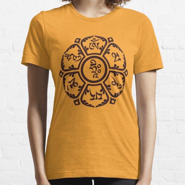 Flor de Om Camiseta esencial