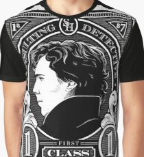 First Class Consulting Detective  Graphic T-Shirt
