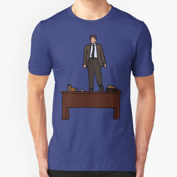 Oh Captain, my Captain! Slim Fit T-Shirt