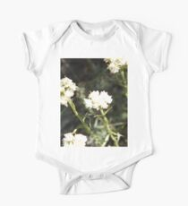 White Flowers Kids Clothes