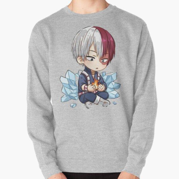 Chibi Shoto Todoroki Sweatshirt épais