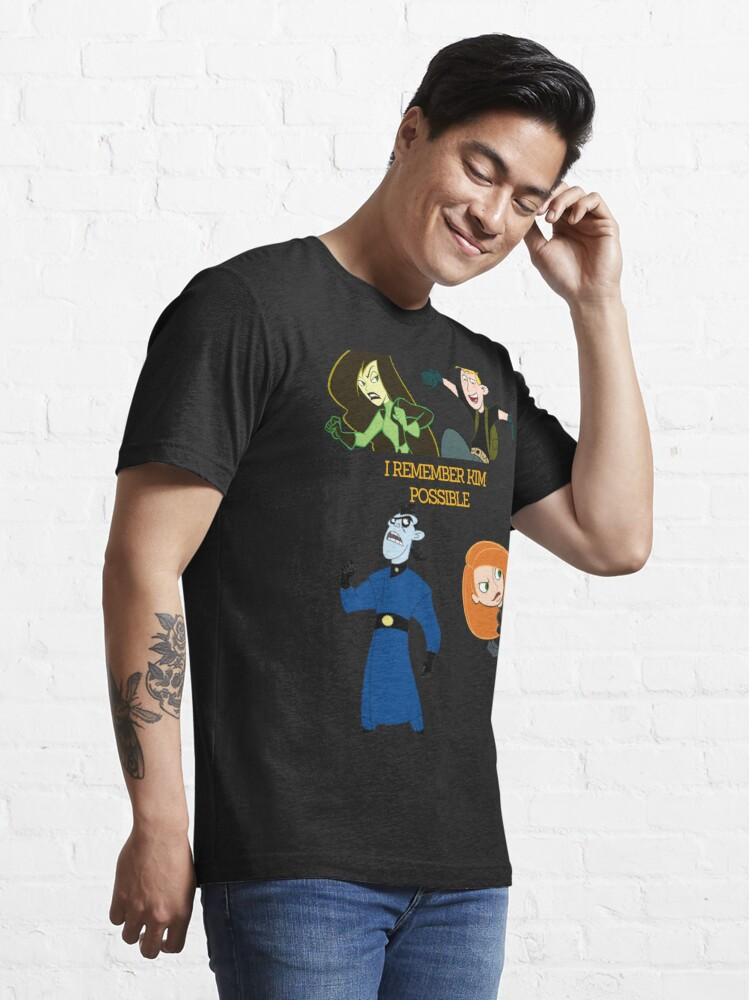 Alternate view of I Remember Kim Possible Essential T-Shirt