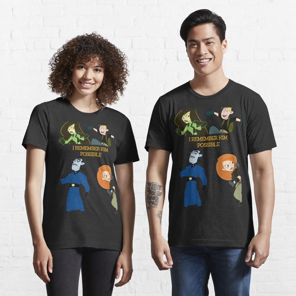 I Remember Kim Possible Essential T-Shirt