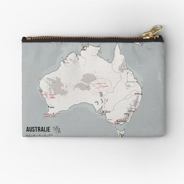 Carte d'Australie - Sorcière de Chair Pochette