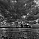 Storm over West Pier by andyw