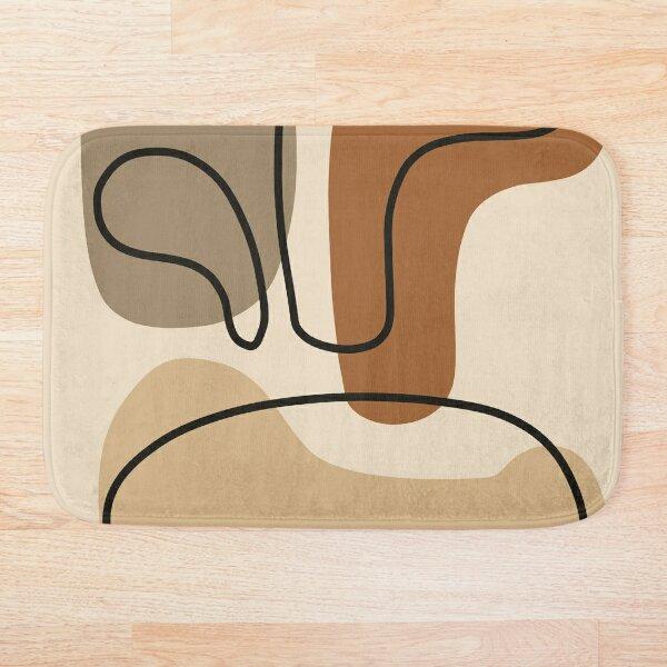 Abstract Aesthetic Art Bath Mat