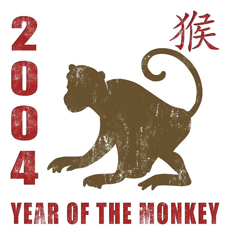 year of the monkey 2004 chinese zodiac monkey 2004