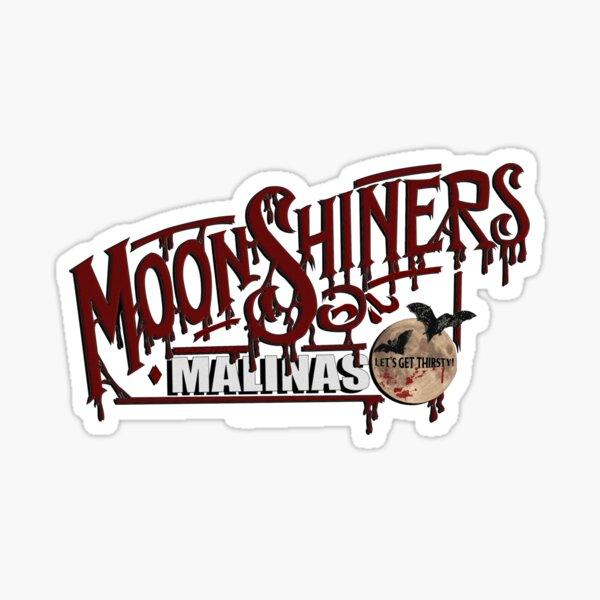 MoonShiners Malinas - Black Sticker