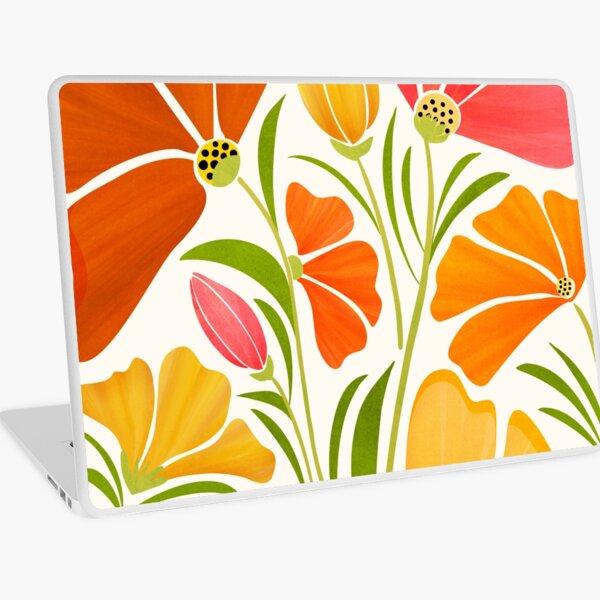 Summer Wildflowers Laptop Skin