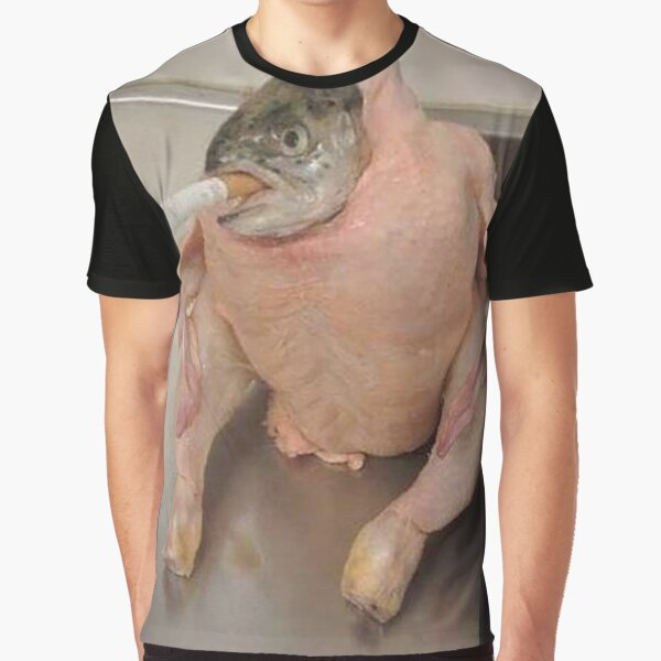 fish in chicken Graphic T-Shirt