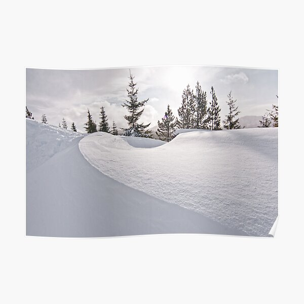 Snow Drift Poster