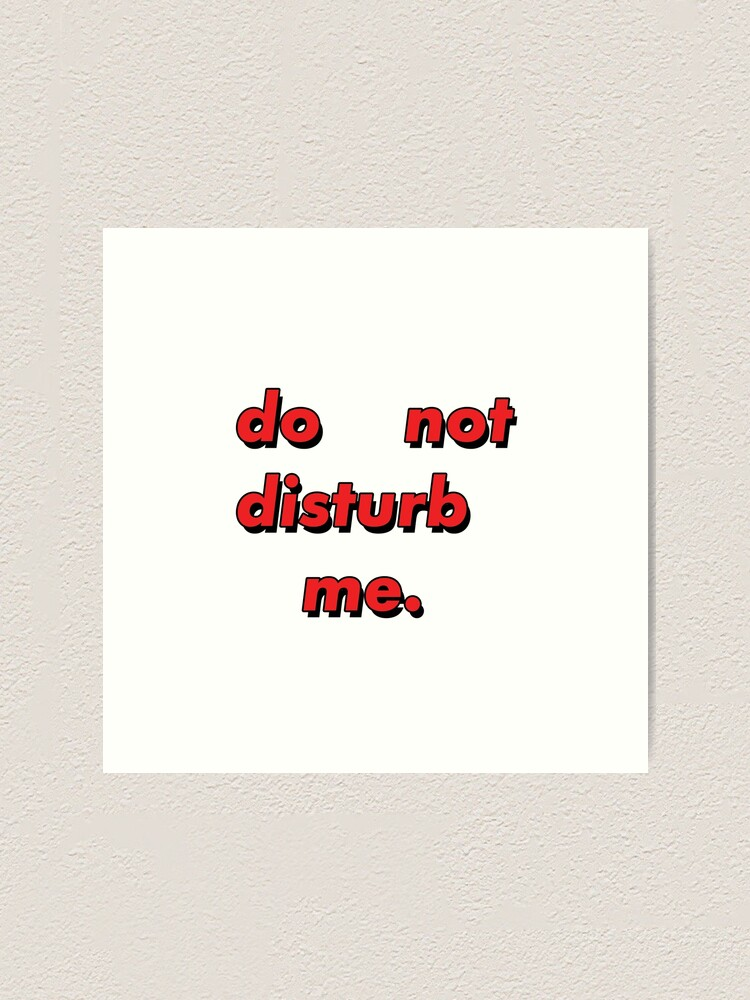 Disturbed poster wall decoration photo print 24x24 inches