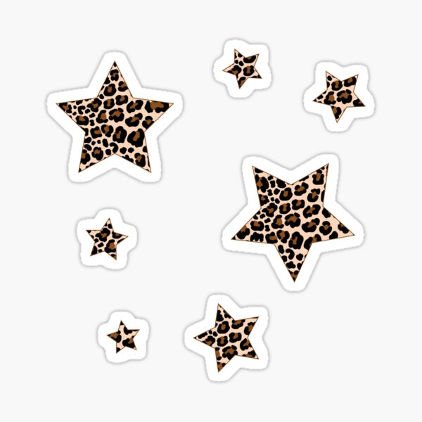 Cheetah Stars Pack Sticker