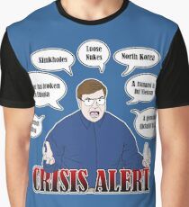 Community -- CRISIS ALERT! Graphic T-Shirt