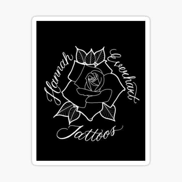 Rose Logo Sticker