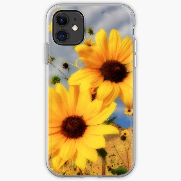 Sunflower Ipod case iPhone Soft Case