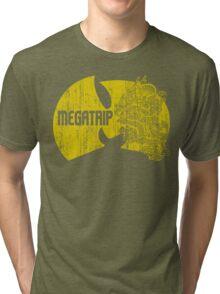 Megatrip (nuthing ta f' wit - yellow gold variant) Tri-blend T-Shirt