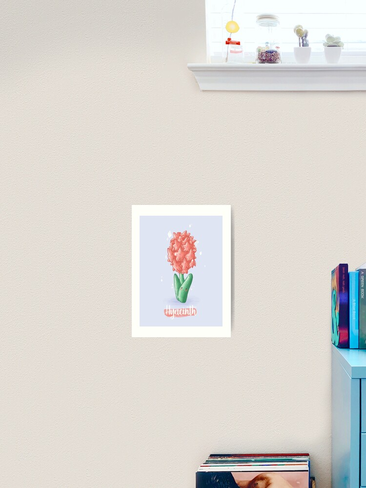 Hyacinth Flower Animal Crossing New Horizons Art Print By