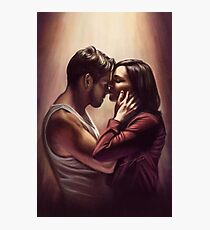 Outlaw Queen Nose Kiss Photographic Print
