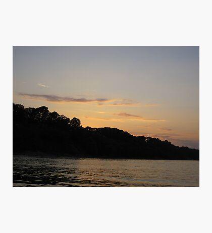 Clouds over Bulff Horizon Photographic Print