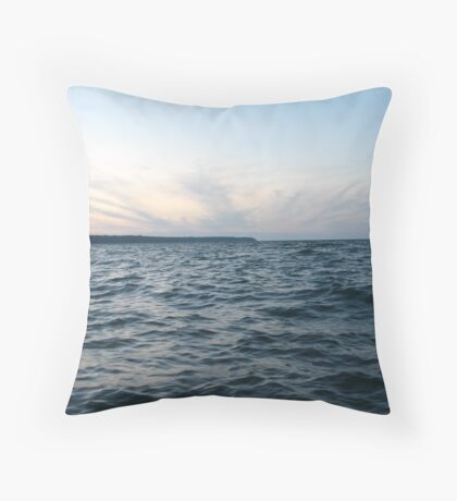 Horizon Crown of Clouds Throw Pillow
