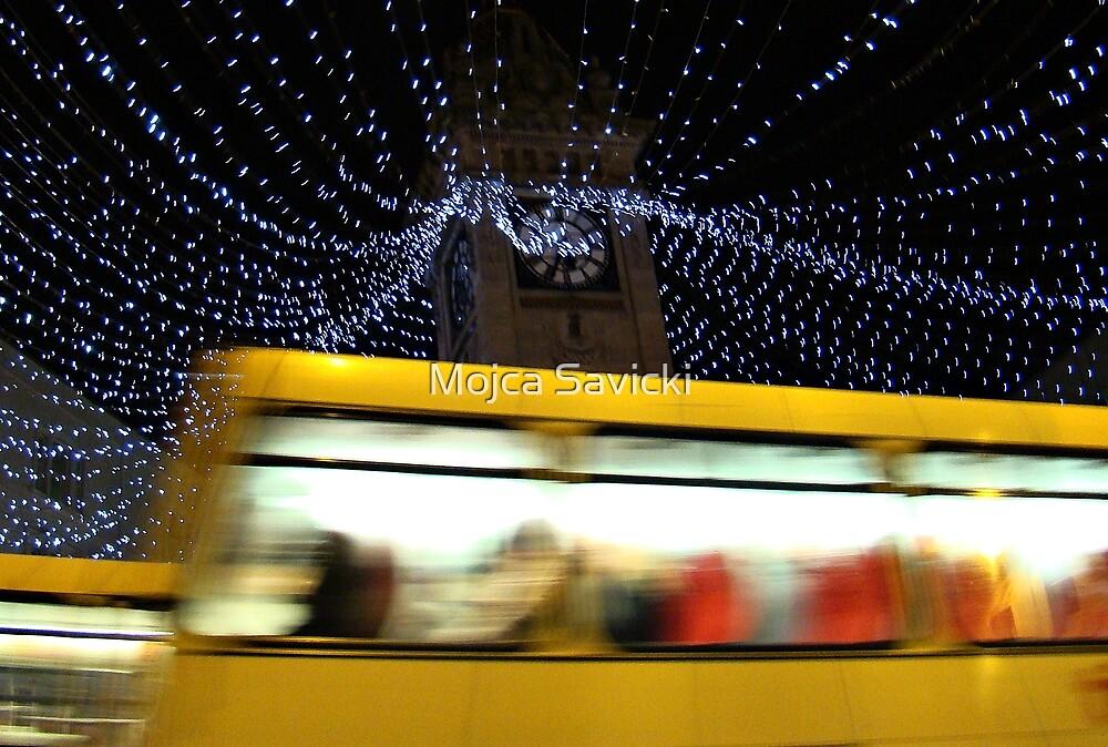 Yellow Bus by Mojca Savicki