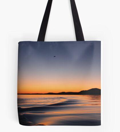 Sunset on Lake Wisconsin Tote Bag