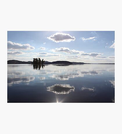 Mirror Clouds on Lake Wisconsin Photographic Print