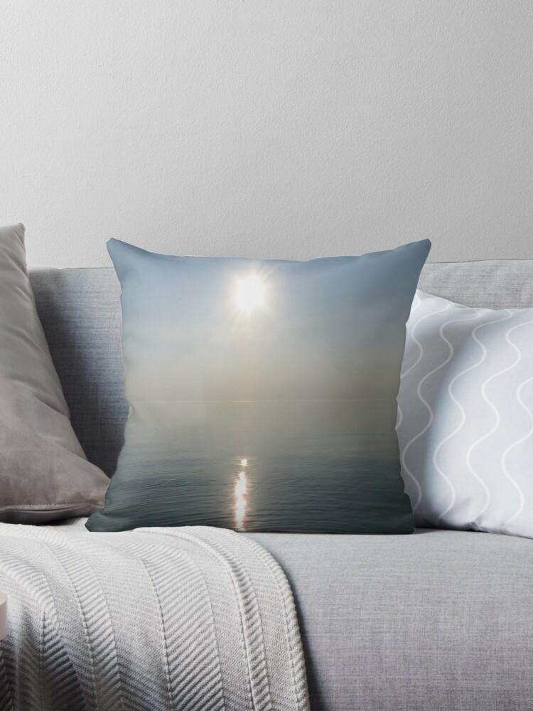 Sun Ray over Lake Michigan by Thomas Murphy