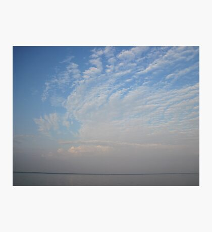 Guardian Angel Clouds Photographic Print