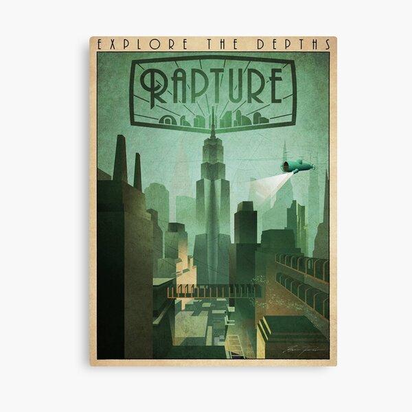Explore Rapture, Bioshock Poster Canvas Print