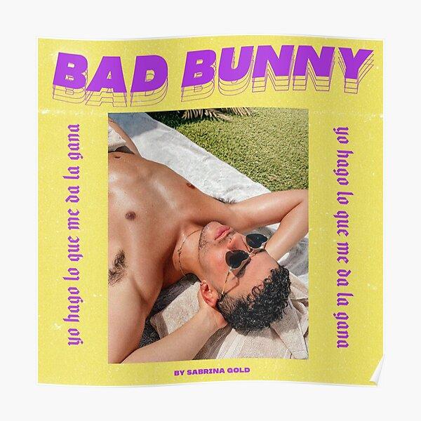 Bunny, Bad, Singer, reggaeton Póster