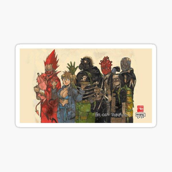 Dorohedoro Poster 2020 Sticker