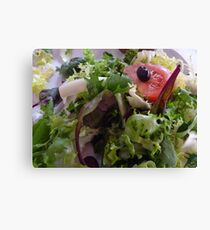Healthy Eating Canvas Print