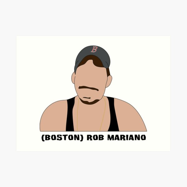 (Boston) Rob Mariano Art Print
