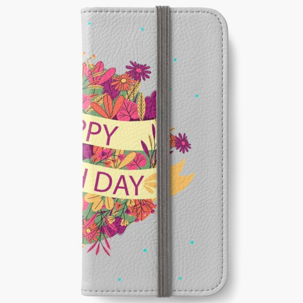 Mother Earth Day iPhone Wallet