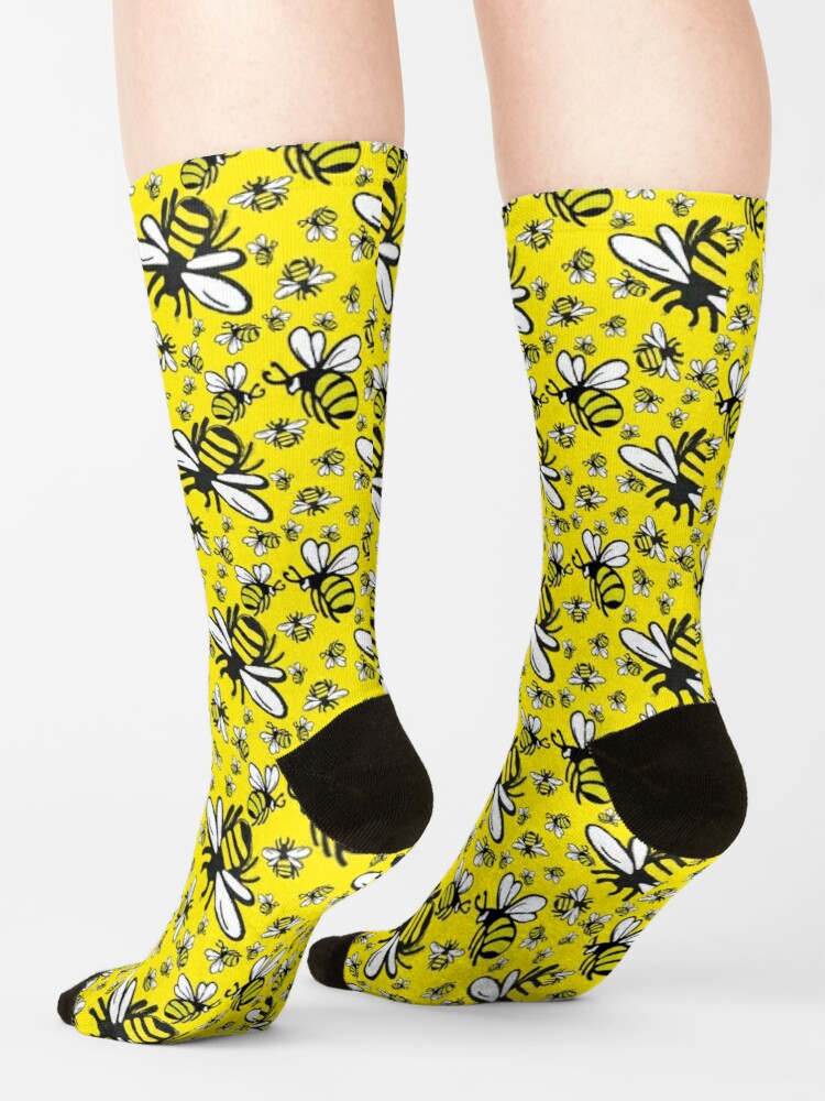 Alternate view of Buzzy Bee and friends Socks