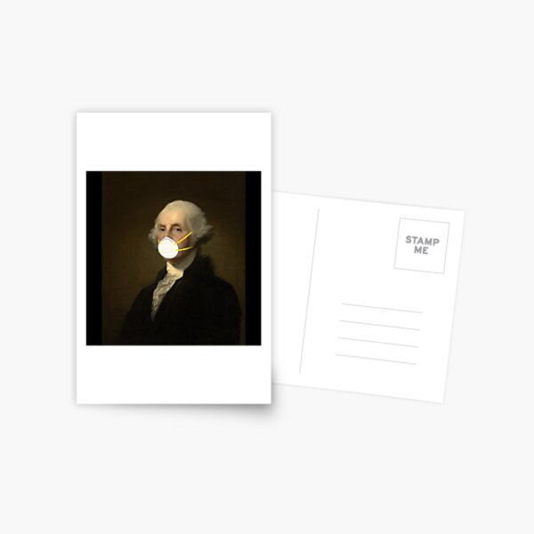 George Washington: Masked Postcard