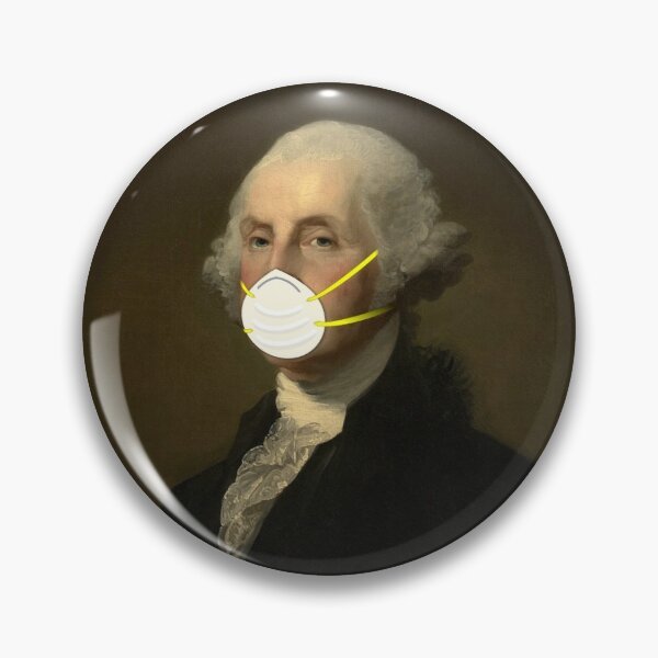 George Washington: Masked Pin