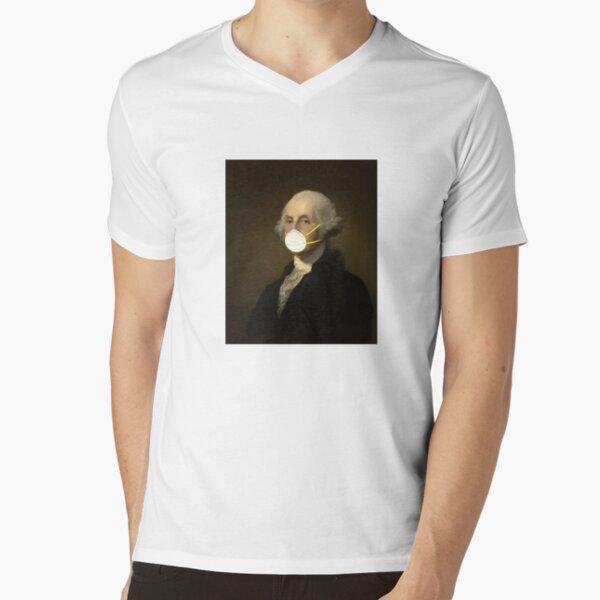 George Washington: Masked V-Neck T-Shirt