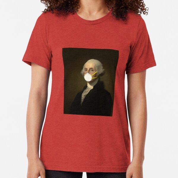 George Washington: Masked Tri-blend T-Shirt