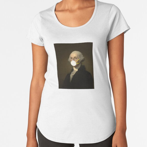 George Washington: Masked Premium Scoop T-Shirt