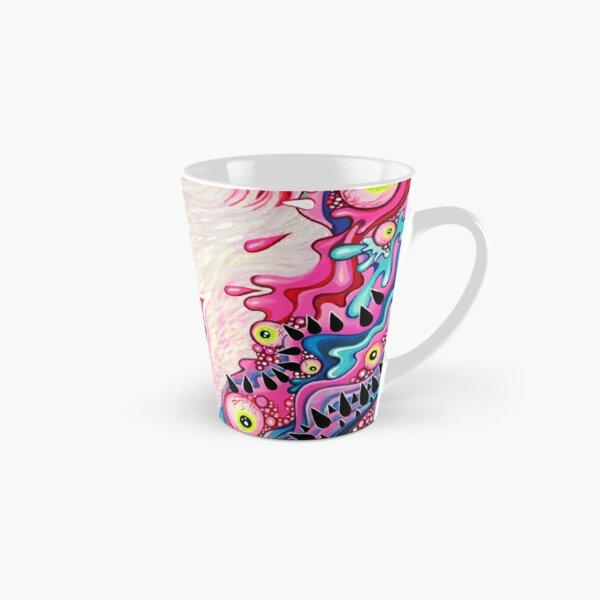 Glitterwolf Acrylic Painting Tall Mug