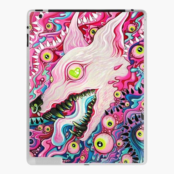 Glitterwolf Acrylic Painting iPad Skin