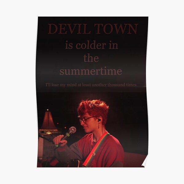 Devil Town - Cavetown Poster