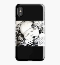 My Daughter, Grace - charcoal portrait, clothing, stickers, iphone case iPhone Case/Skin